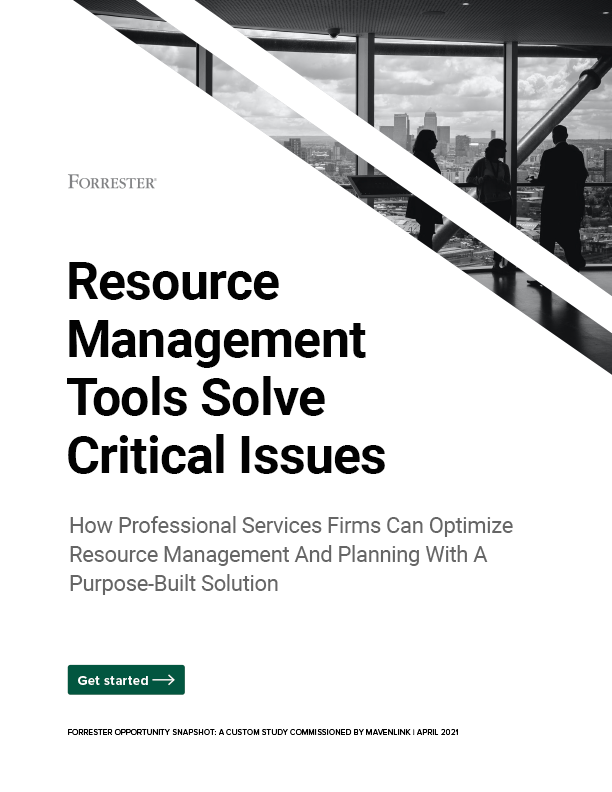 Resource Management Tools Solve Critical Issues
