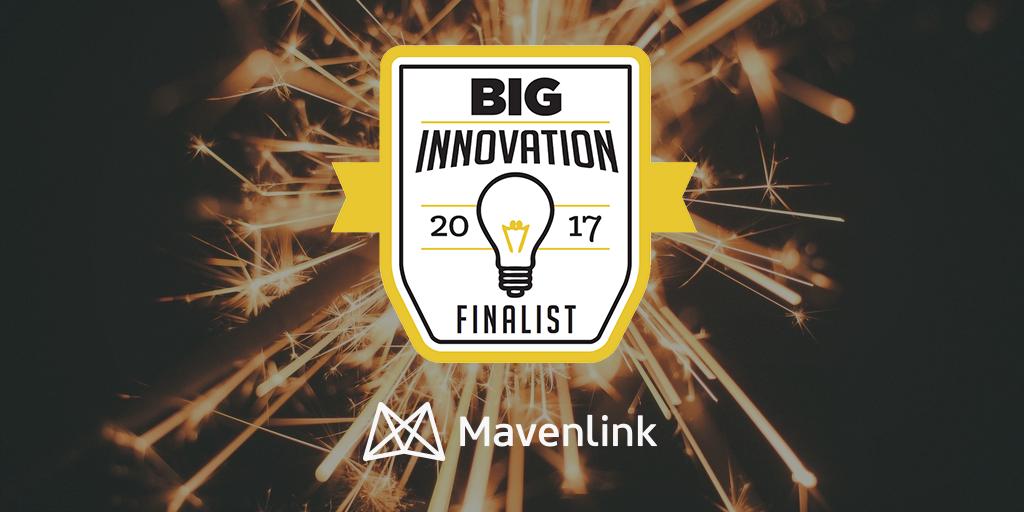 Mavenlink Wins 2017 BIG Innovation Award