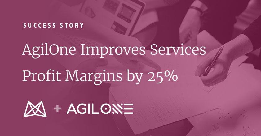 AgilOne Improves Services Profit Margins by 25%