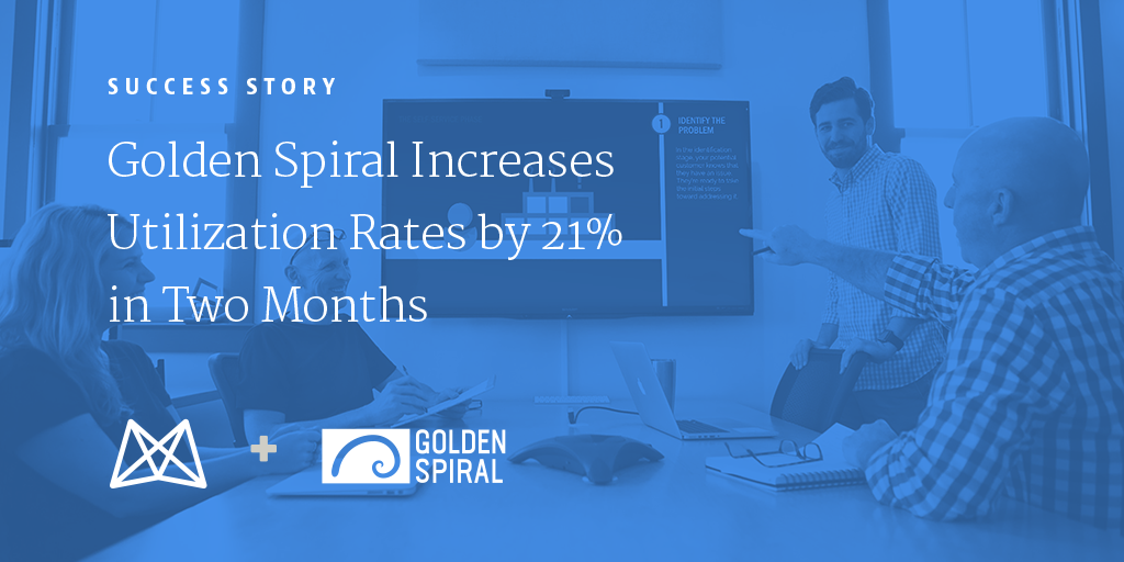 Golden Spiral Increases Utilization Rates by 21% in Two Months