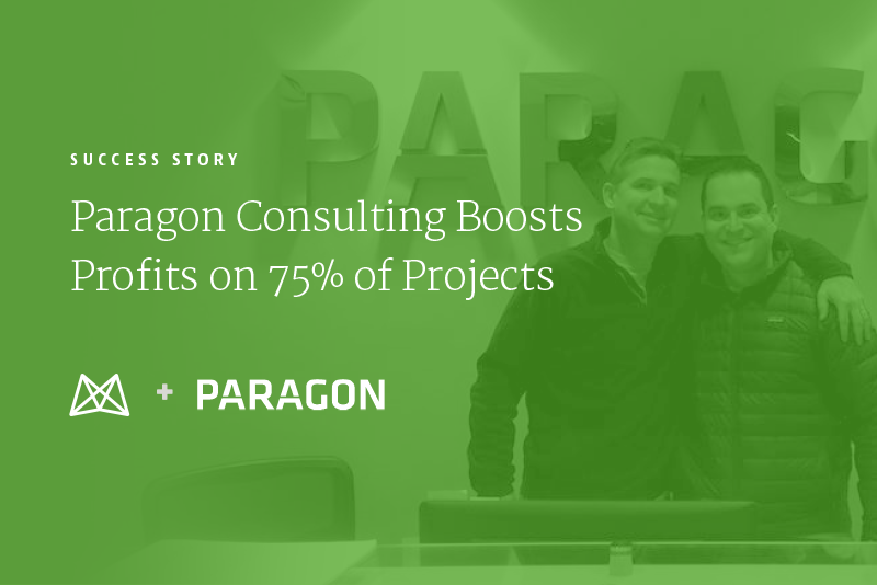 Paragon Consulting Boosts Profits on 75% of Projects