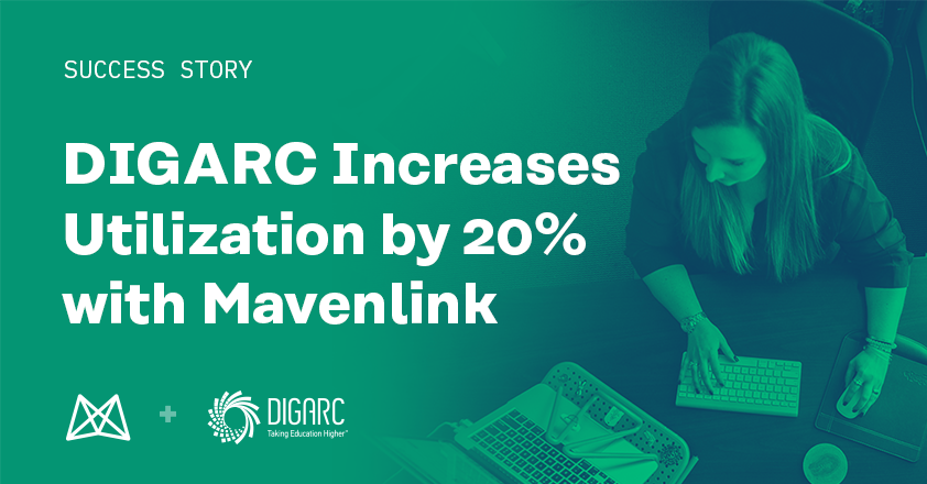 DIGARC Improves Utilization by 20% With Mavenlink